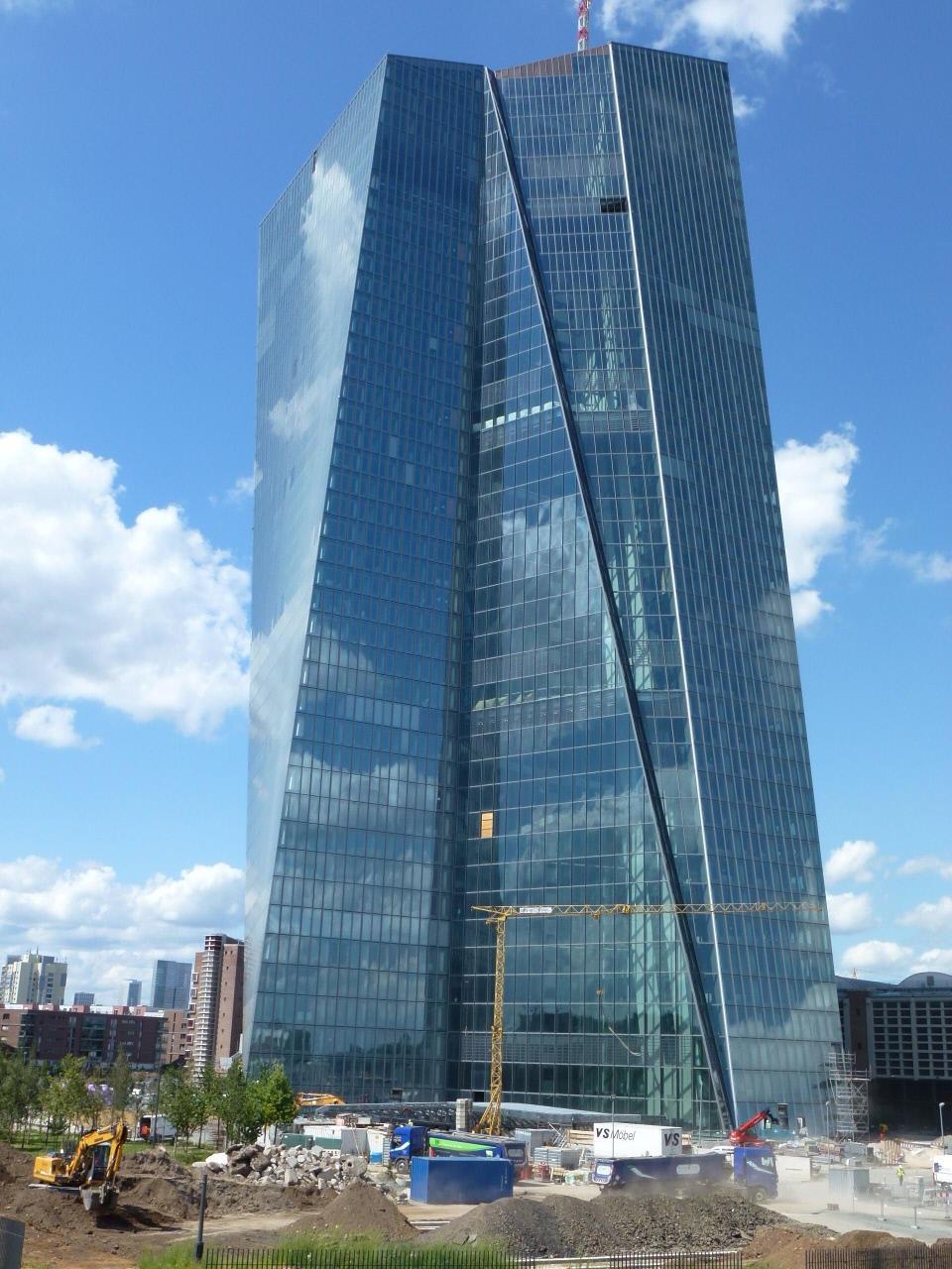 EZB Turm - Frankfurt a...